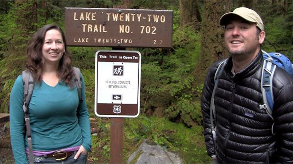 Video trail review and guide for Lake Twenty-Two (22) Hike, Granite Falls WA | TMBER