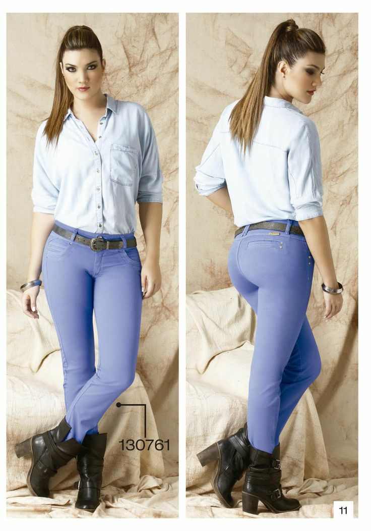 pantalon-de-drill-bota-tubo-color-azul - Sexy, yet Casual #Fashion #sexy #woman #womens #fashion #neutral #casual #female #females #girl #girls #hot  #hotlooks #great #style #styles #hair #clothing  www.ushuaiajean.com.co