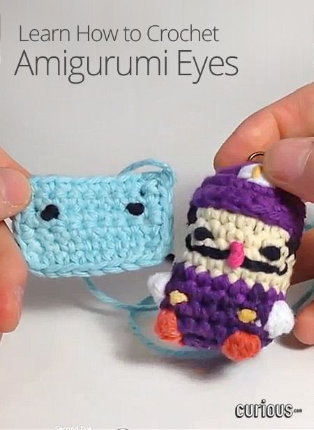 Amigurumi Eyes How To : 425 best images about Amigurumi tips on Pinterest