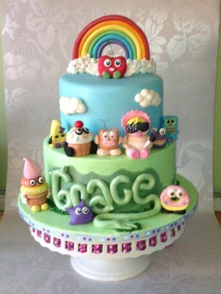 Moshi Monster cake  Cake by danmadewithlove