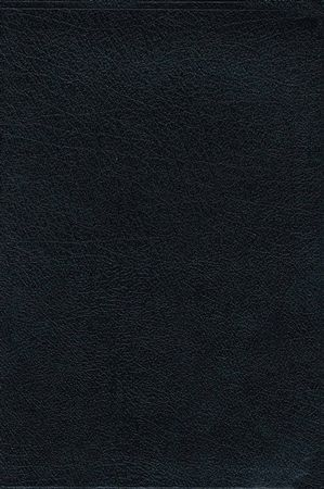 NIV Life Application Study Bible, Large Print, Bonded Leather, Black