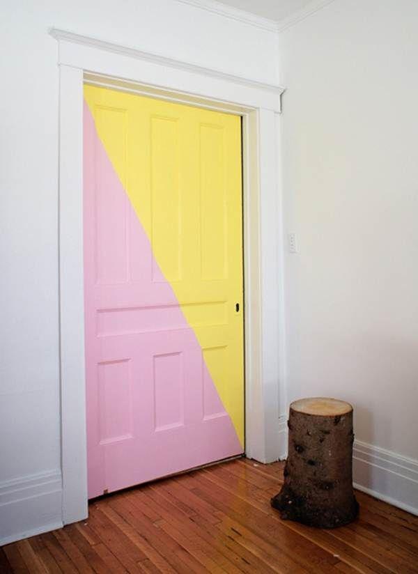 297 mejores im genes sobre decoraci n low cost en - Decoracion puertas blancas ...