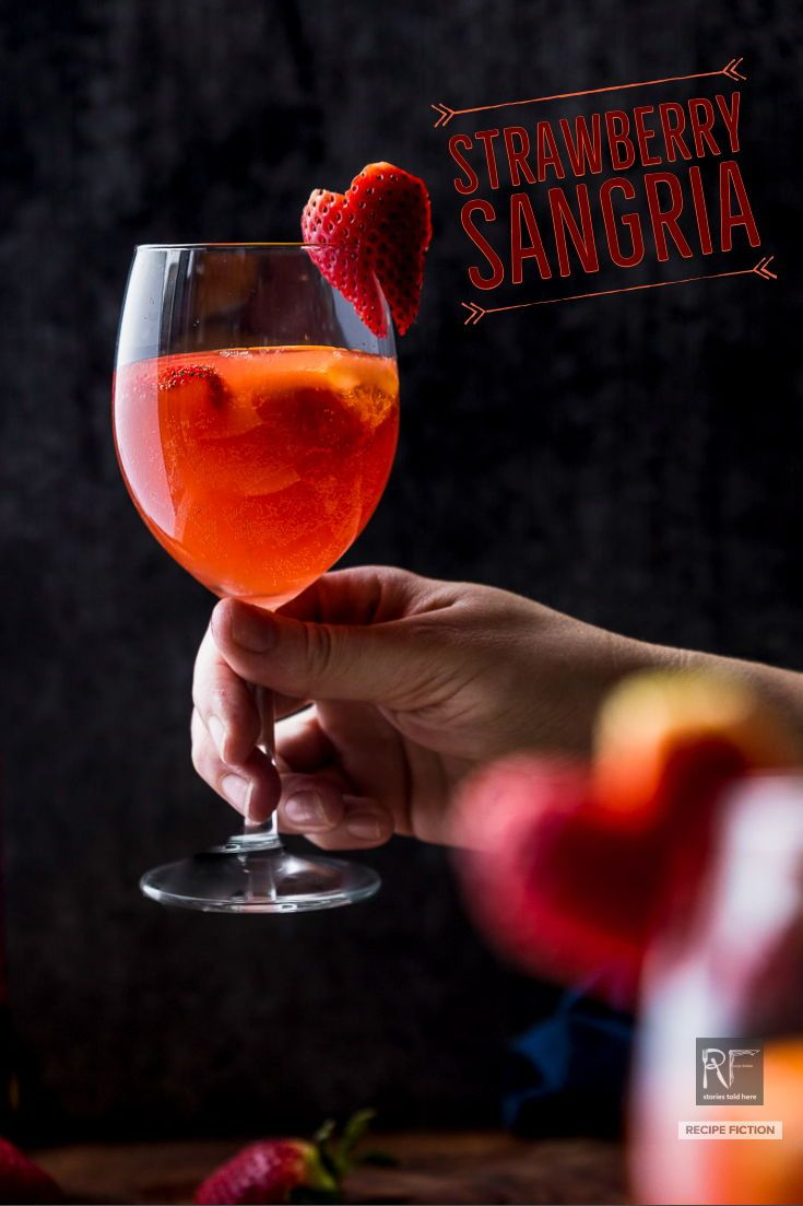 Quick Strawberry Hard Cider Sangria Recipe Fiction Recipe Cider Sangria Hard Cider Strawberry Cider