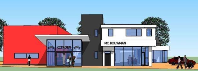 Bekijk de foto's van de verbouwing Autobedrijf M.C. Bouwman