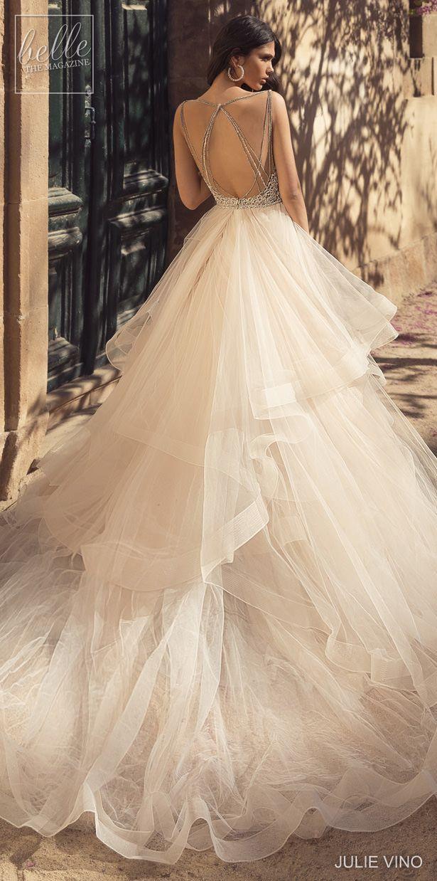 Julie Vino Wedding Dresses 2020 Princess ball gowns