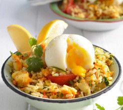 Smoked Fish and Rice Salad #Seafood #Recipe #SouthAfrica