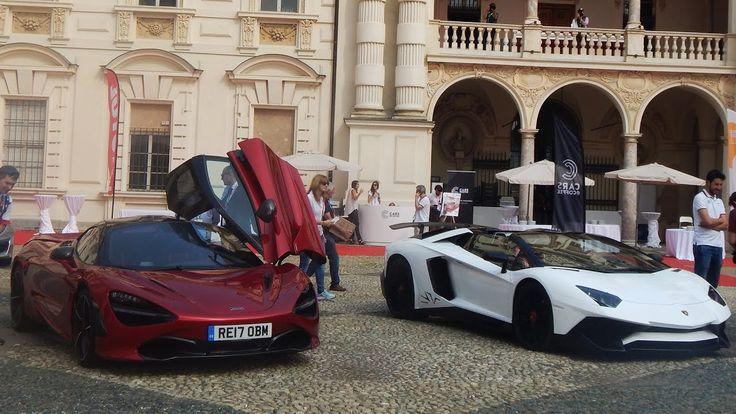 Cars and Coffee Italy Salone Parco del Valentino -1: 720S, Aventador SV,...