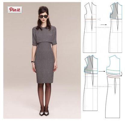 Dress, pattern instructions