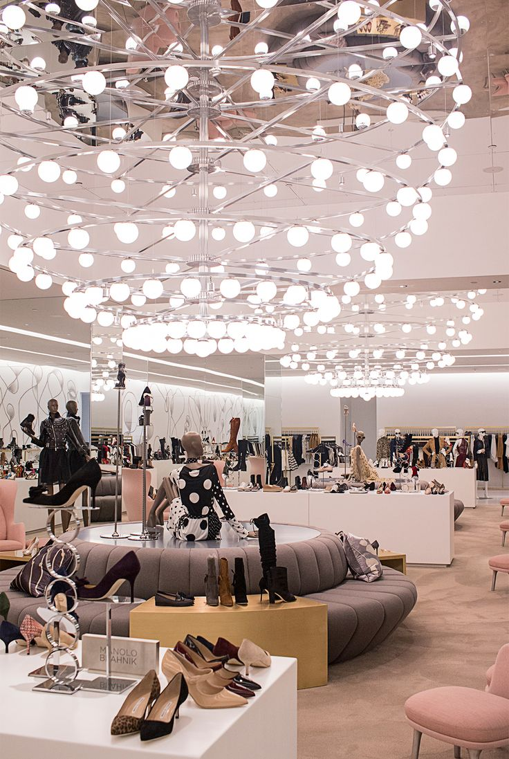 Saks Fifth Avenue's New Downtown Location Is Not Your Average Department Store from InStyle.com