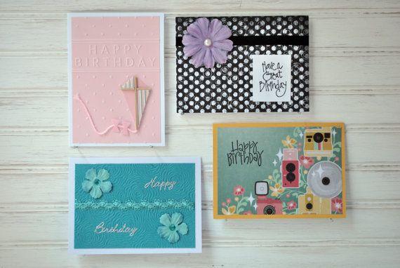The FEMALE BIRTHDAY PACK  4 Female Birthday Cards  2