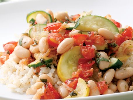 Summer Squash & White Bean Sauté Recipe | Kitchen Daily | food twists ...