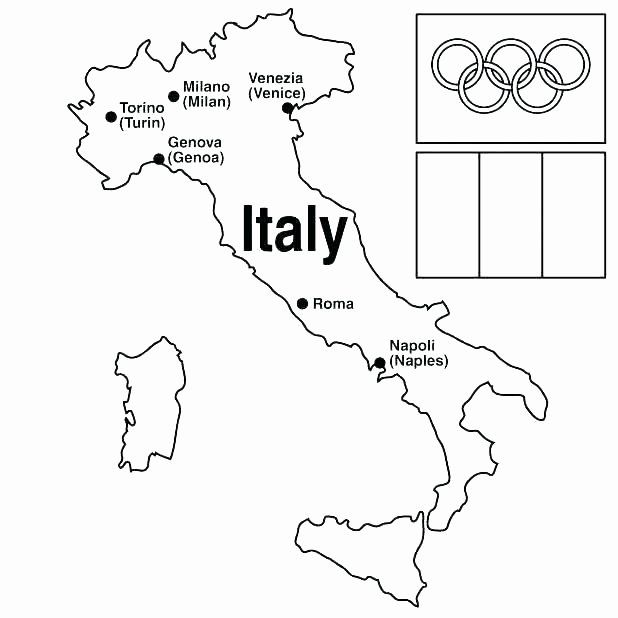 Italian Flag Coloring Page In 2020 Flag Coloring Pages Coloring