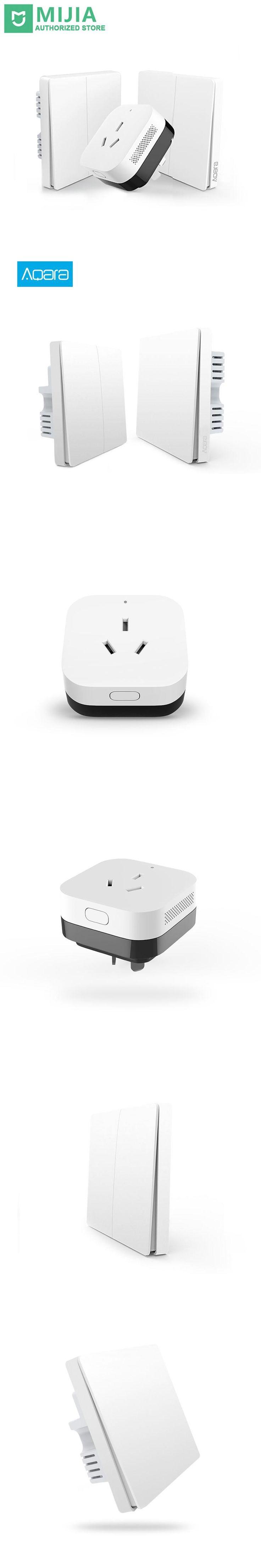 Xiaomi Smart Home Gateway 3 ,Aqara Smart Light Control ZiGBee/Wifi Wireless Key and Wall Switch Via Smarphone APP Remote
