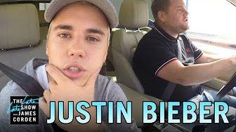 Justin Bieber Carpool Karaoke - YouTube