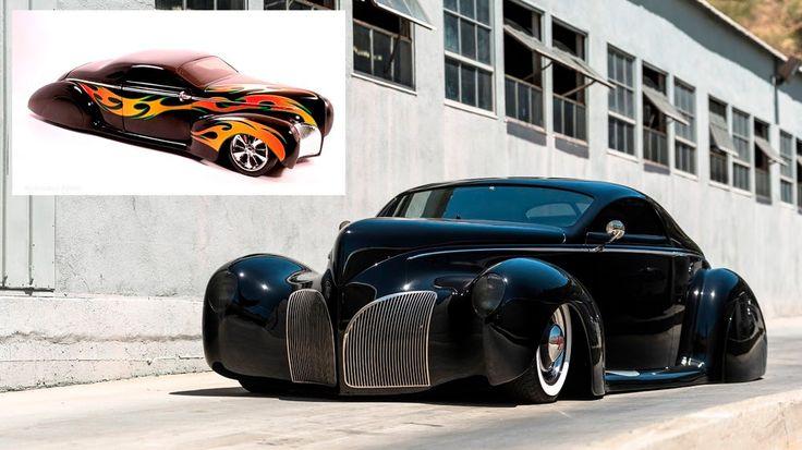 Original Hot Wheels #Lincoln Zephyr Scrape on auction