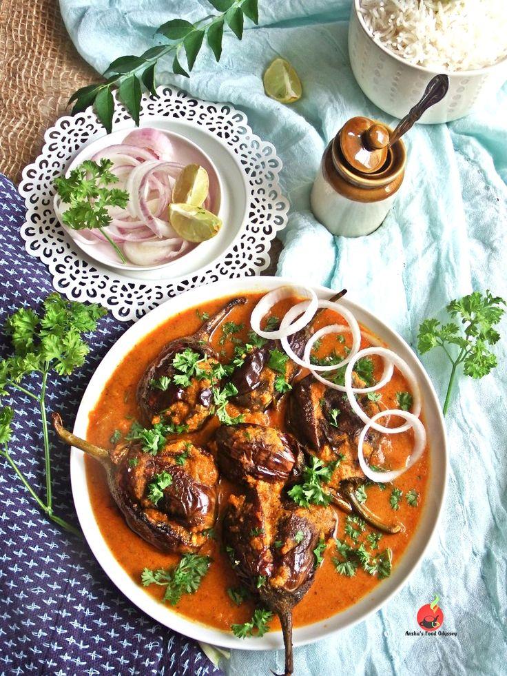 "I am sure, you all are aware of the famous "" Hyderabadi Baghare Baingan "" .... well ! this "" Punjabi Style Achaari Baingan Masala"" is also..."