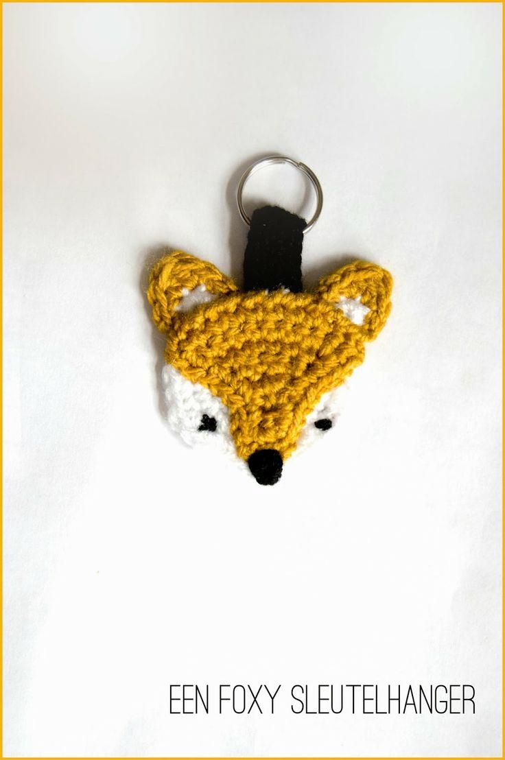 136 besten Crochet Keychain Animals Bilder auf Pinterest   Häkeln ...