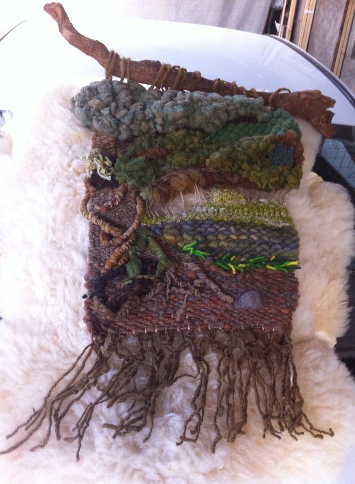 Árbol tramado en fibras Naturales