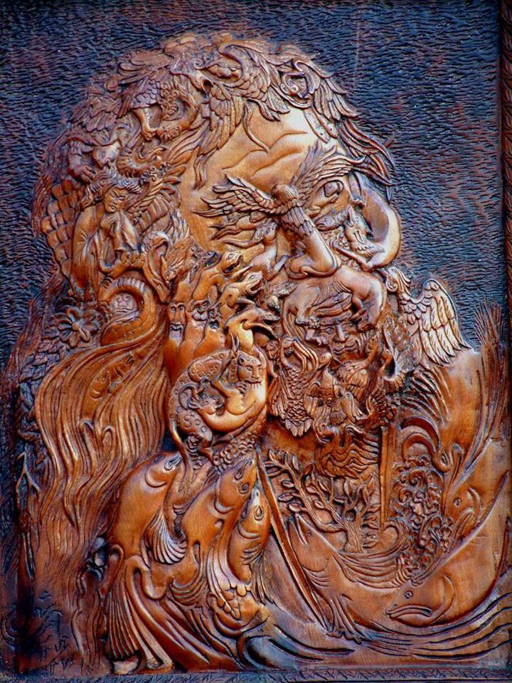 Shahram Amiri Woodcarvers, amazing ! Art Appreciation