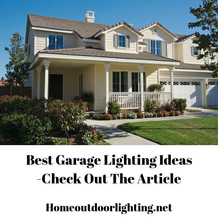 Good Garage Lighting Ideas. #garage #garagelight