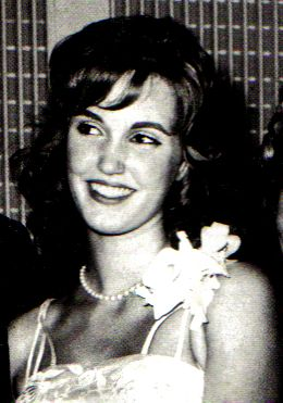 Cheryl Crane - daughter of Lana Turner who murdered Johnny Stompanato, her mother's lover.