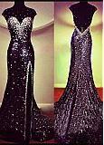 Buy discount Elegant Stretch Satin Scoop Neckline Sheath Evening Dress at Dressilyme.com