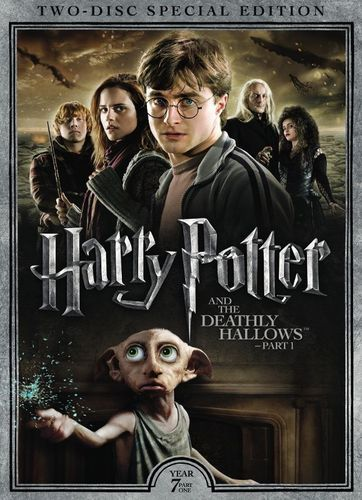 Harry Potter And The Deathly Hallows Part 1 2 Discs Dvd 2010 Best Buy Deathly Hallows Part 1 Harry Potter Movies Harry Potter