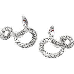 Serpent cuff links