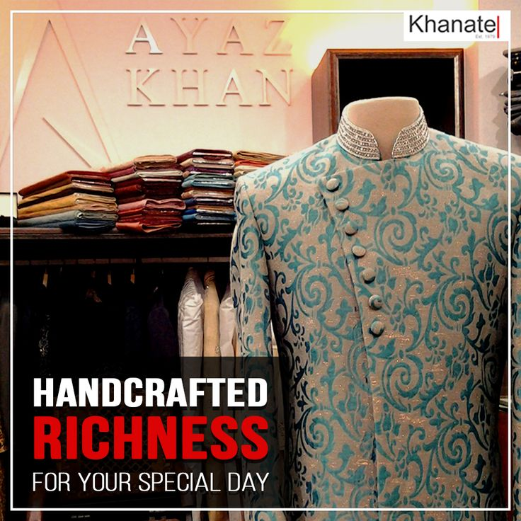 Rich. Regal. Handcrafted..https://khanate.flit.in. For the man who feels the need to feel complete.