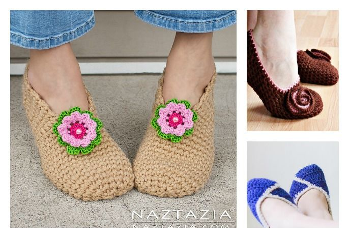 Crochet slippers are a great way to keep your feet warm in any time of year. Here are Simple Crochet Slippers Free Patterns you can work up quickly.