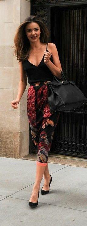 Street Style Inspiration by Miranda Kerr.