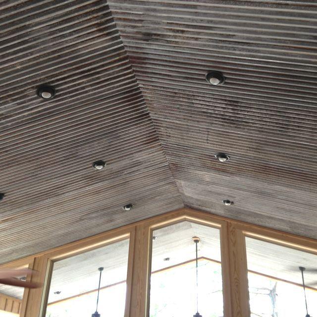 Metal Sheeting For Walls best 25+ metal ceiling ideas on pinterest | rustic doors, rustic