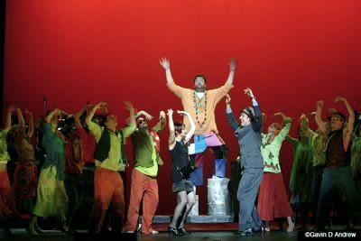 Sweet Charity - Alan Brough as Big Daddy 'The Rhythm Of Life' - Costume Design By Kim Bishop 2007 kimbishop.com.au
