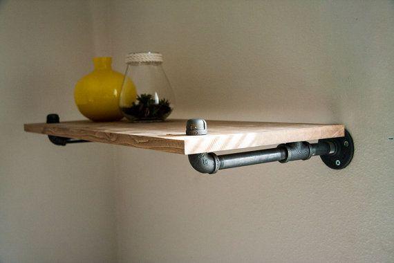 Shelves . Shelf 12 Wood Shelf Wall Shelf от BrooklynBlackPipe