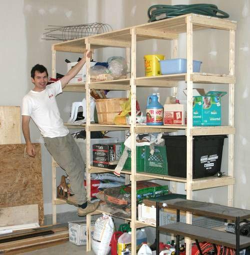 Basement Storage Shelving Ideas: Best 25+ Basement Storage Shelves Ideas On Pinterest