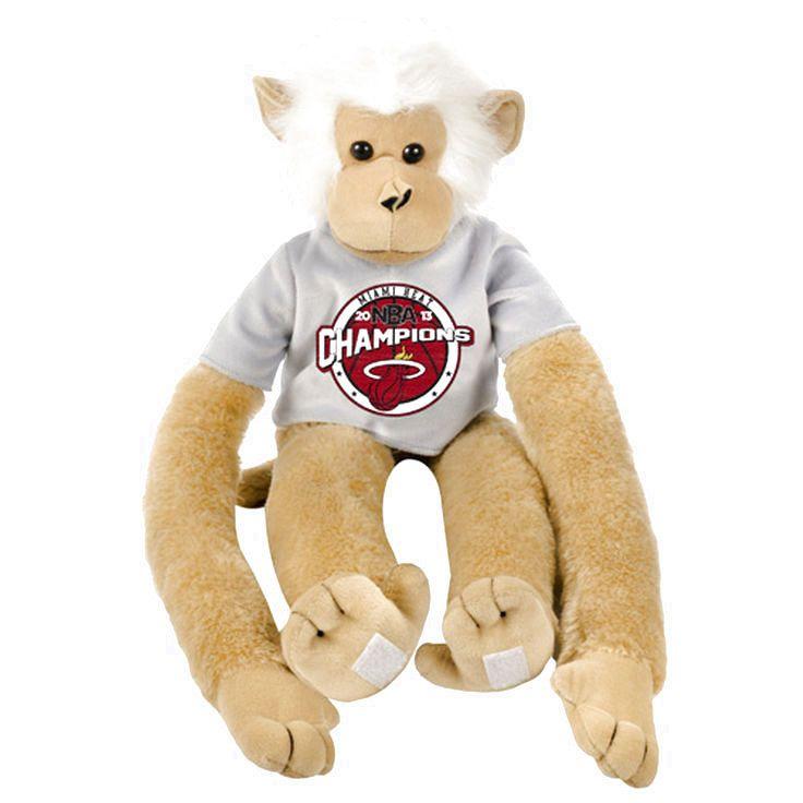 Miami Heat 2013 NBA Finals Champions Fuzzy Plush Monkey - $7.99