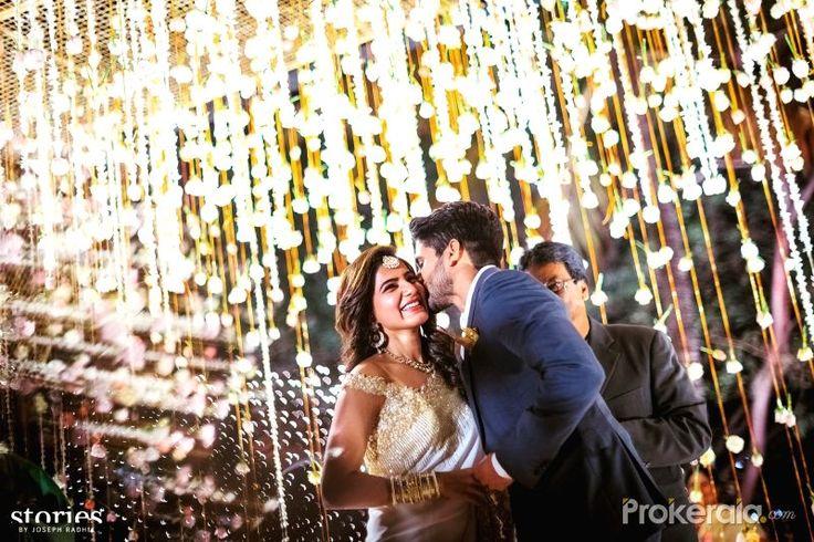 نتيجة بحث الصور عن samantha and naga engagement