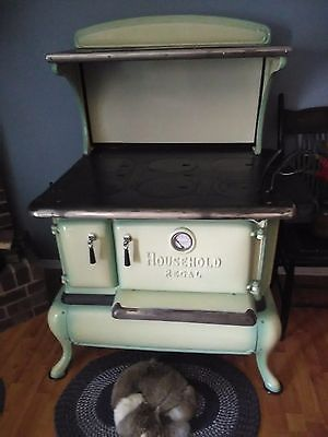 how to clean antique porcelain stove