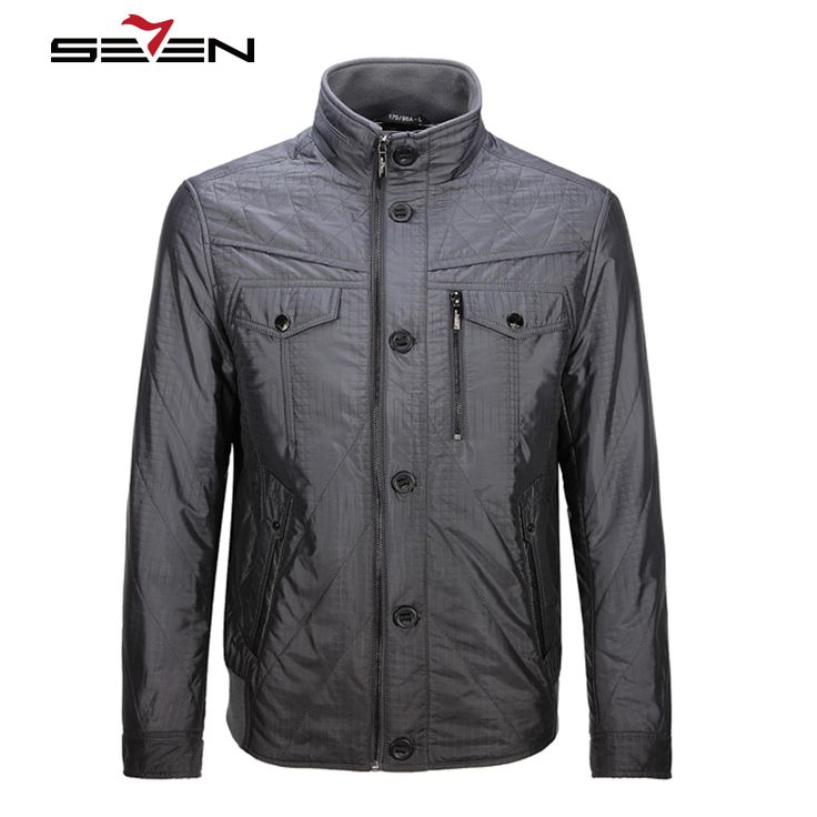 Seven7 Brand 2016 New Arrival Winter Men Coats Parkas Plus Size Warm Casual Jacket Fashion Men Outerwear Coats 703K2313