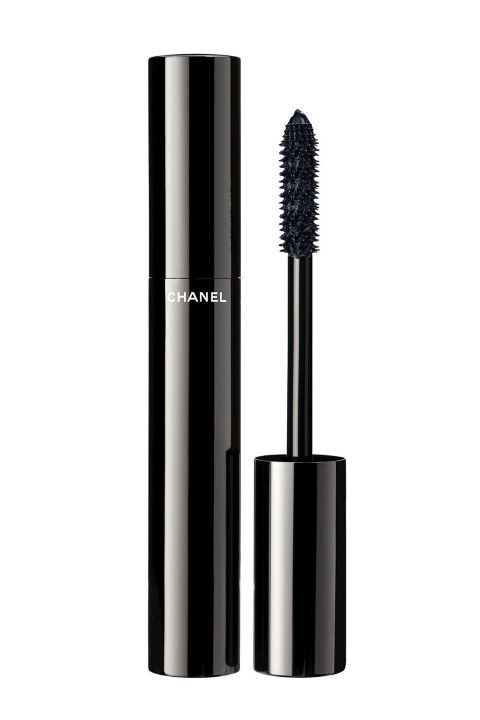 "Le Volume de Chanel Mascara has been out for a bit now, but its latest blue iteration is brand new, and trust me, you're going to want a tube. The navy blue hue helps brighten the whites of your eyes by canceling out any redness. At the same time, it lengthens the look of your lashes. Le Volume de Chanel Mascara in ""Blue Night,"" $32"