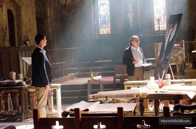 Dexter - Publicity still of Colin Hanks & Edward James Olmos