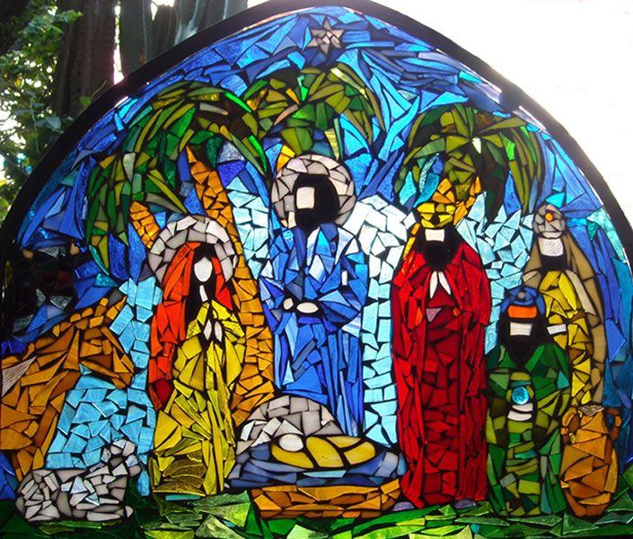 Pesebre Mosaico