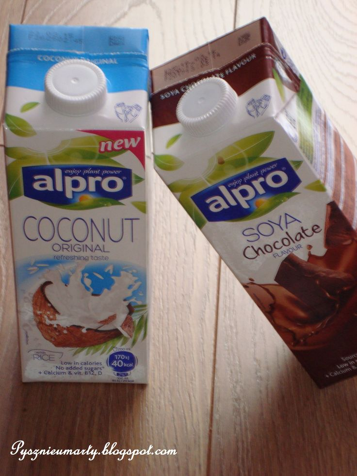 Coconut & Chocolate Drinks