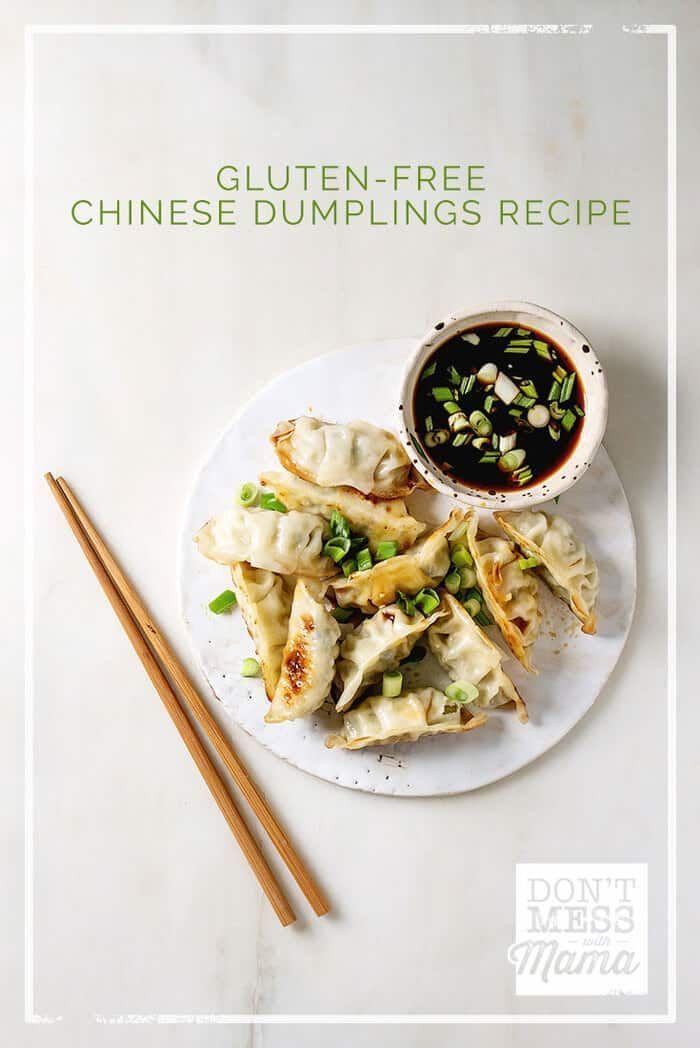 Gluten Free Chinese Dumplings Asian Pan Fried Gyoza In 2020 Gluten Free Asian Recipes Gluten Free Chinese Gluten Free Chinese Food
