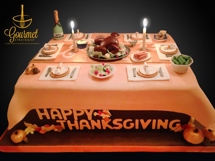 Edible Cake Images Thanksgiving : 17 Best images about Cake decoration ideas - Cakisserie on ...