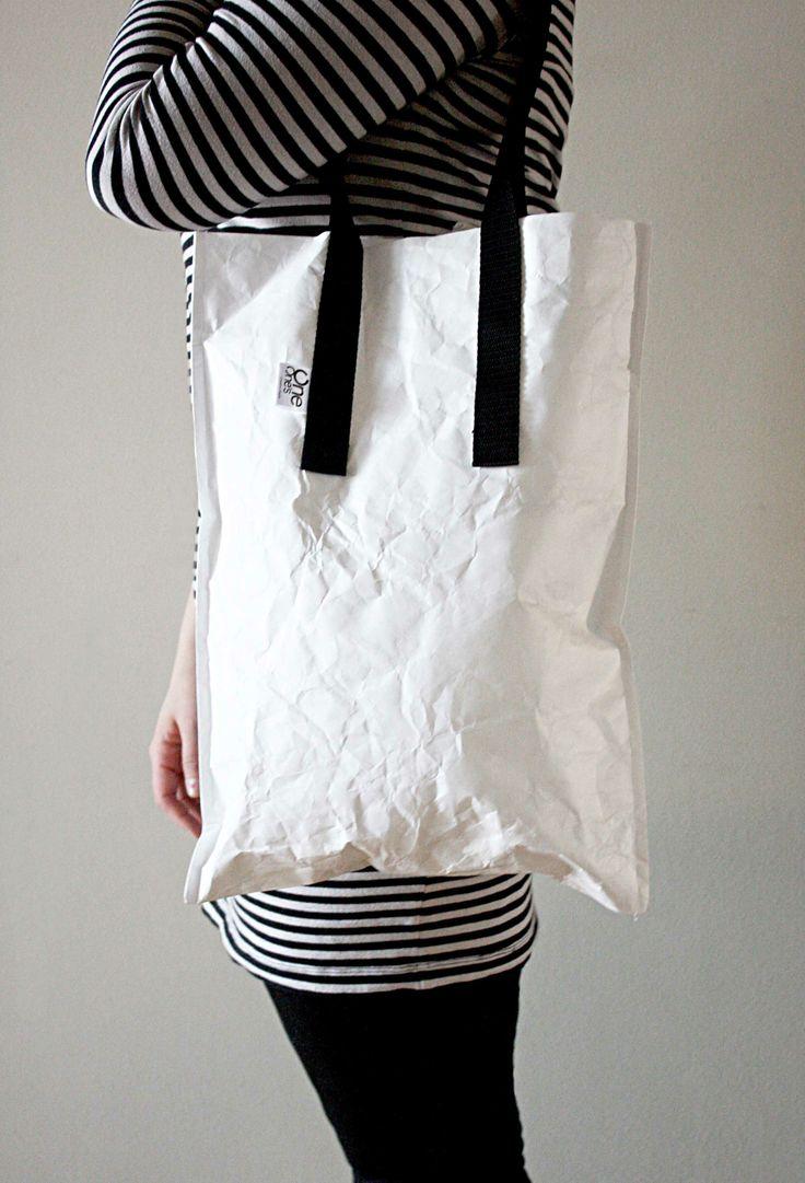 Torba z tyveku - 100% ekologicznego materiału, który wygląda jak papier | http://dekoeko.com/?post_type=tcp_product&p=5260 | Kup na www.dekoeko.com