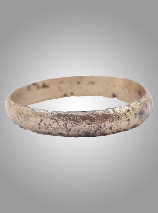 Ancient Viking Mans Wedding Band Jewelry C.866-1067A.D. Size 10 1/2 (19.8mm)