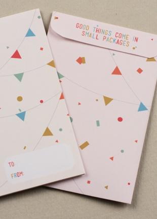 Bunting Gift Card Envelopes  ▾▿▾▿▾▿▾▿▾▿▾▿▾▿▾▿▾▿▾