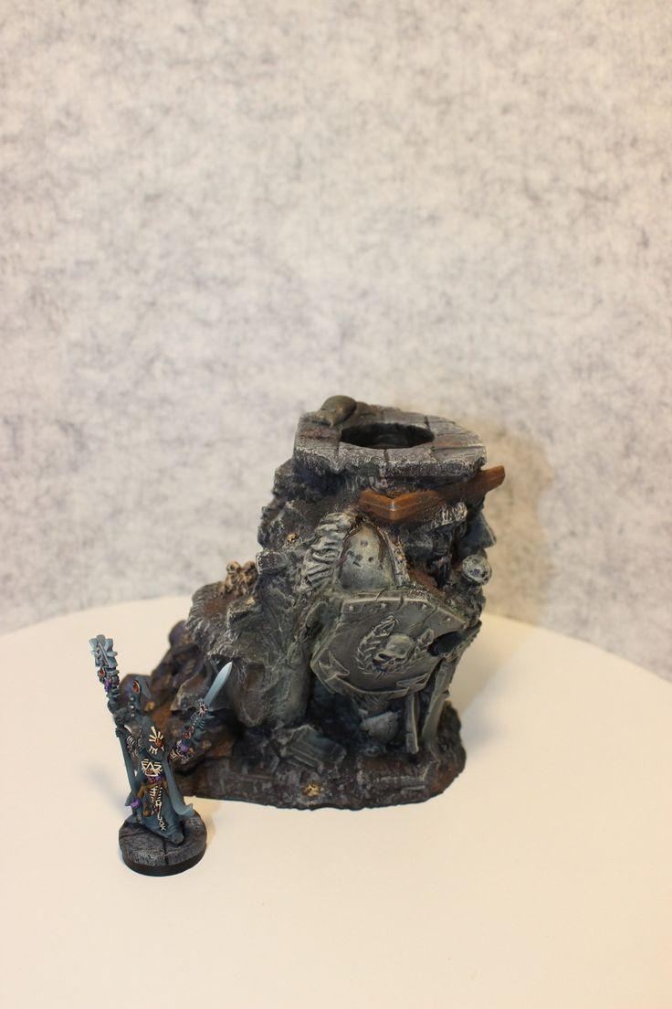 Eldar Eldrad display stand 40k warhammer