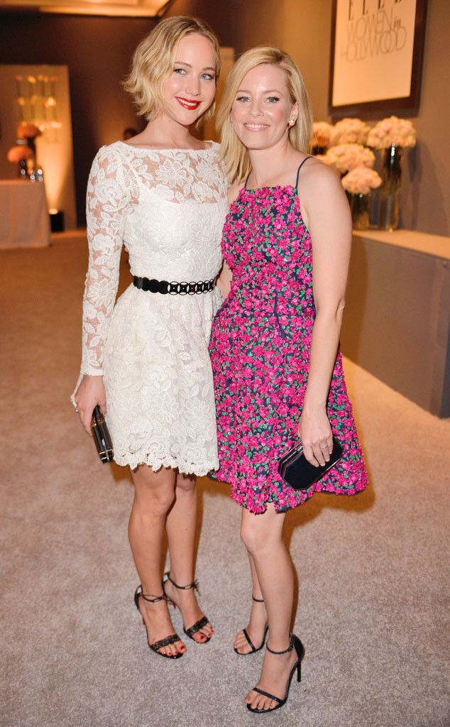 Jennifer Lawrence and Elizabeth Banks look flawless at the Elle Women in Hollywood event!